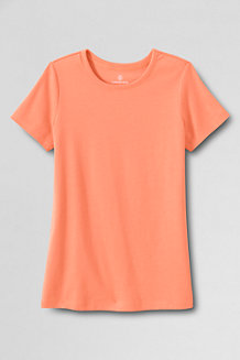 Women's Short Sleeve Cling Free Rib Tee