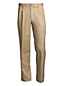 Chino Long Avec Pinces Facile d'Entretien Coupe Ourlets Sur-Mesure, Homme Stature Standard