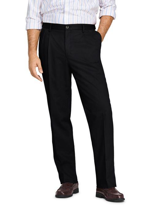 Fseason-Men Expandable-Waist Cozy No Iron Ultra Light Weight Chino Pants