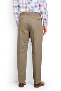 Men's Big and Tall Comfort Waist No Iron Chino Pants, Back
