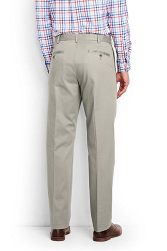Men's Big and Tall Comfort Waist No Iron Chino Pants