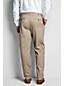 Men's Regular Plain Front Comfort-waist No-iron Chinos