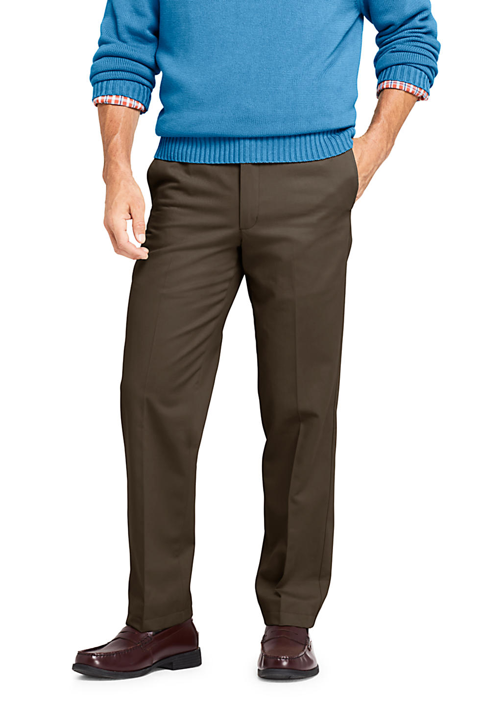 Lands End Mens Comfort Waist No Iron Chinos (various colors/sizes)