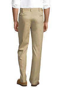 Men's Comfort Waist No Iron Chino Pants, Back
