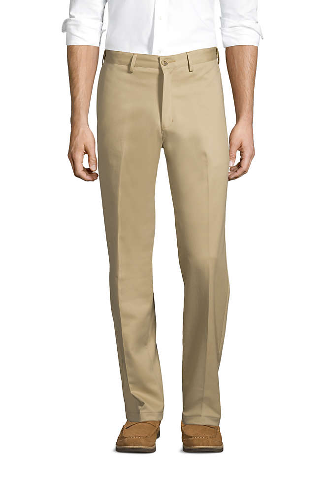 Men's Comfort Waist No Iron Chino Pants, Front