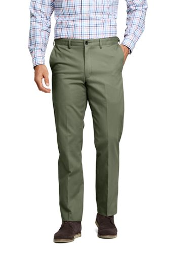 c5d3f8e2f35a3 Men's Comfort-waist Flat Front Non-iron Chinos | Lands' End