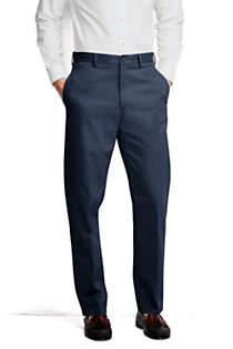 Men's Big and Tall Traditional Fit No Iron Chino Pants, Front