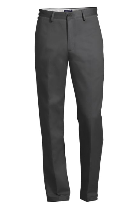 Men's Plain Traditional Fit No Iron Chino Pants