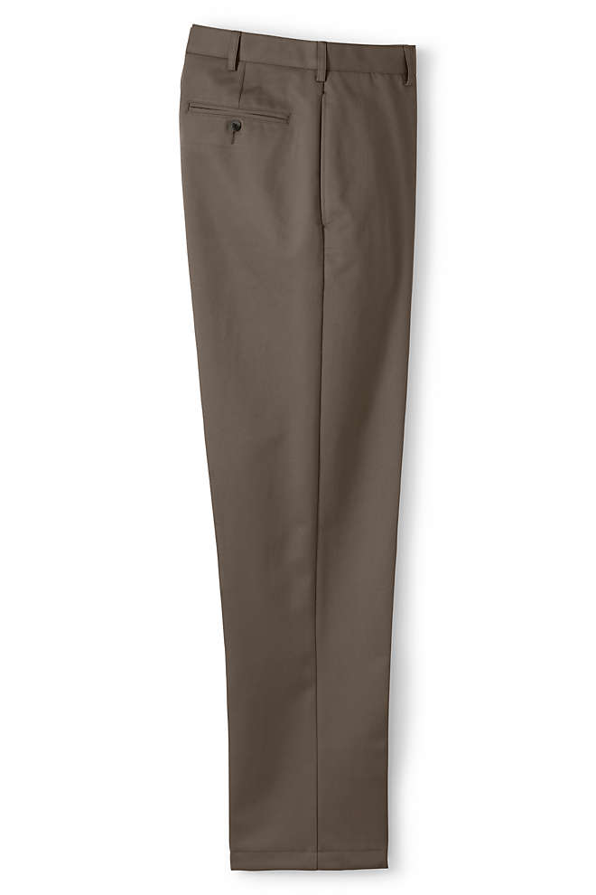 Men's Traditional Fit No Iron Chino Pants, Front