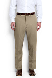 Men's Traditional Fit Plain No Iron Chino Pant
