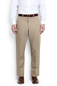 Mens Regular Traditional Fit Casual Chinos - 30 30 - Orange Lands End R3UhxJgvq