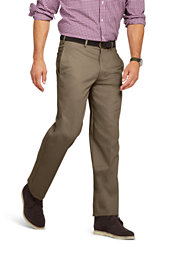 Lands' End Men's Traditional Fit Plain No Iron Chino Pants