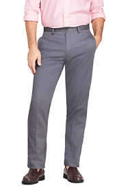 Men's Long Traditional Fit No Iron Chino Pants