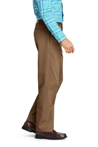 Men's Traditional Fit No Iron Chino Pants