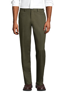 Men's Flat Front Non-iron Chinos, Traditional Fit