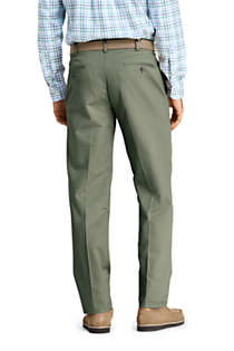 Men's Traditional Fit No Iron Chino Pants, Back