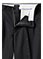 Men's Regular Traditional Fit Pleated Front No-iron Chinos