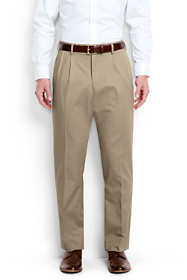 Men's Big & Tall Pleat Front Traditional Fit No Iron Chino Pants