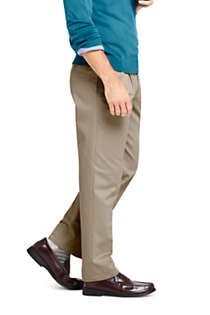 Men's Traditional Fit Pleated No Iron Chino Pants, Unknown