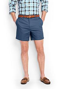 Men's Woven Plain Adjustable Shorts from Lands' End