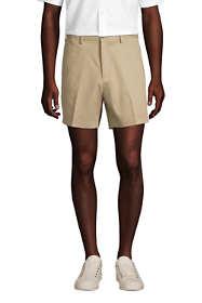 """Men's Comfort Waist 6"""" No Iron Chino Shorts"""