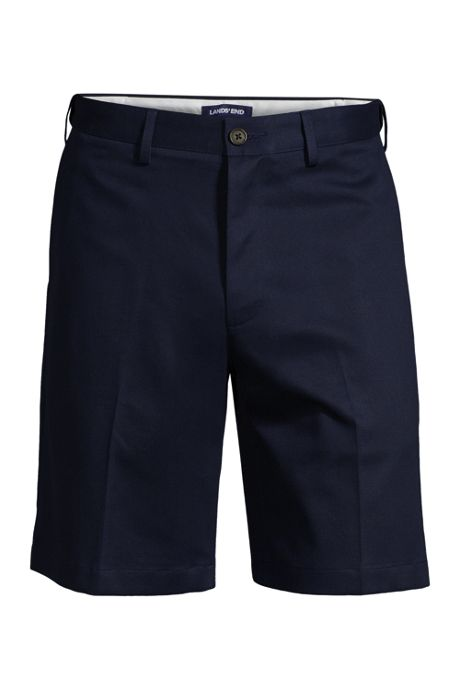 Men's Comfort Waist 9 Inch No Iron Chino Shorts