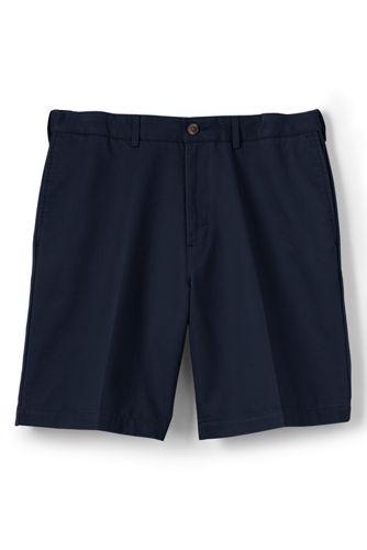 Men's Regular No-iron Comfort-waist Chino Shorts