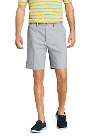 "Men's Comfort Waist 9"" No Iron Chino Shorts"