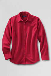 Women's Basic Twill Sport Shirt