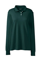 Women's Long Sleeve Performance Interlock Polo Shirt