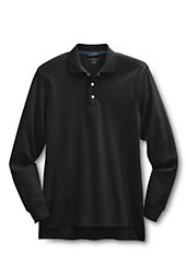 Men's Long Sleeve Performance Interlock Polo Shirt