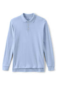 School Uniform Men's Tall Long Sleeve Interlock Polo Shirt