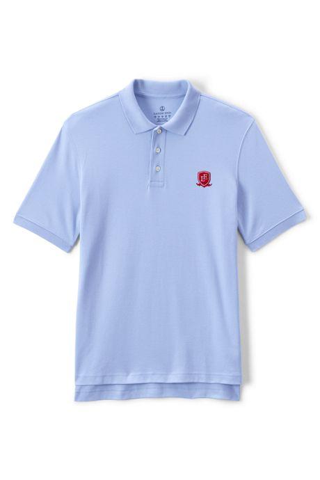 School Uniform Exclusive Men's Short Sleeve Interlock Polo