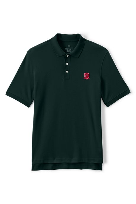 School Uniform Men's Tall Short Sleeve Interlock Polo
