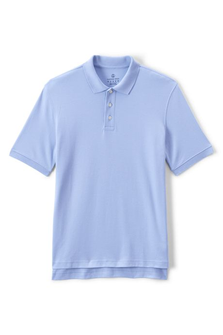Men's Tall Short Sleeve Interlock Polo