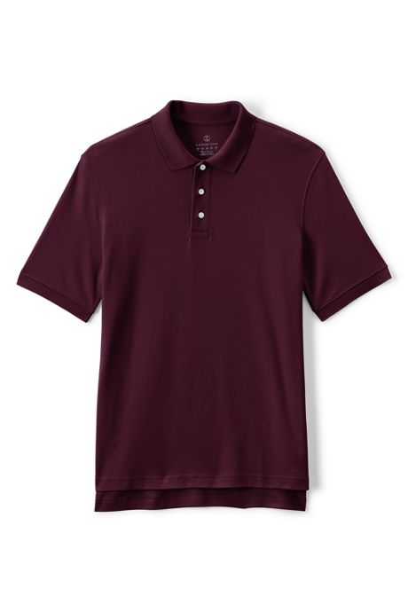 Uniform Men's Short Sleeve Interlock Polo Shirt