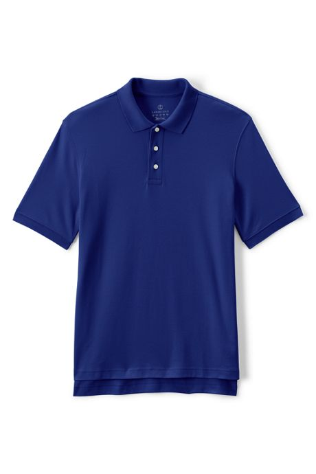 Men's Short Sleeve Interlock Polo Shirt