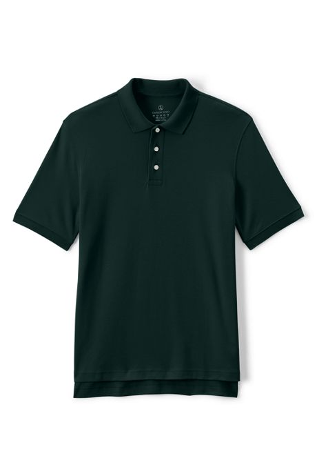 School Uniform Men's Short Sleeve Interlock Polo
