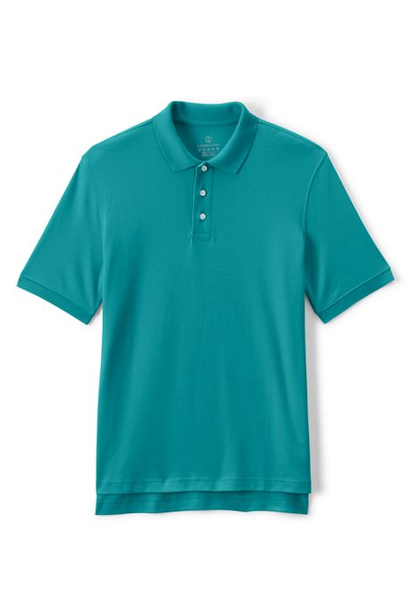 School Uniform Men's Short Sleeve Interlock Polo Shirt