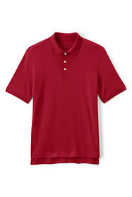 Men's Tall Short Sleeve Interlock Polo Shirt
