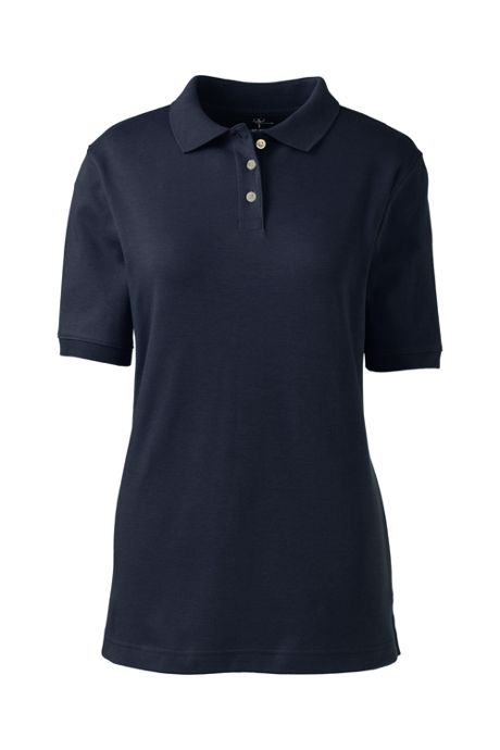 Women's Short Sleeve Interlock Polo