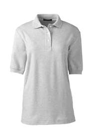 School Uniform Women's Short Sleeve Interlock Polo