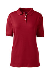 Women's Short Sleeve Performance Interlock Polo Shirt