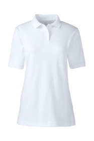 School Uniform Women's Tall Short Sleeve Interlock Polo