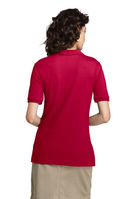 Women's Tall Short Sleeve Interlock Polo Shirt