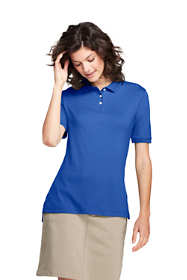 School Uniform Women's Short Sleeve Interlock Polo Shirt