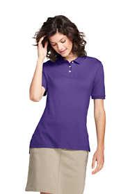School Uniform Women's Short Sleeve Interlock Polo