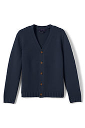 School Uniform Button-front Drifter Cardigan Sweater