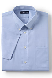 Men's Short Sleeve No Iron Pinpoint Shirt