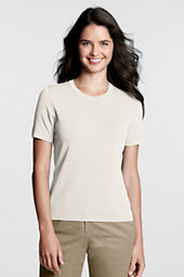 Women's Rayon Nylon Jewelneck Shirt